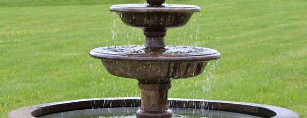 Fuentes ornamentales Tratamiento del agua en fuentes ornamentales